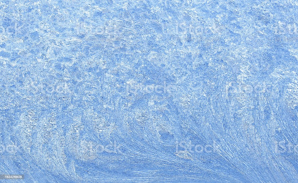 Waves in Frost royalty-free stock photo