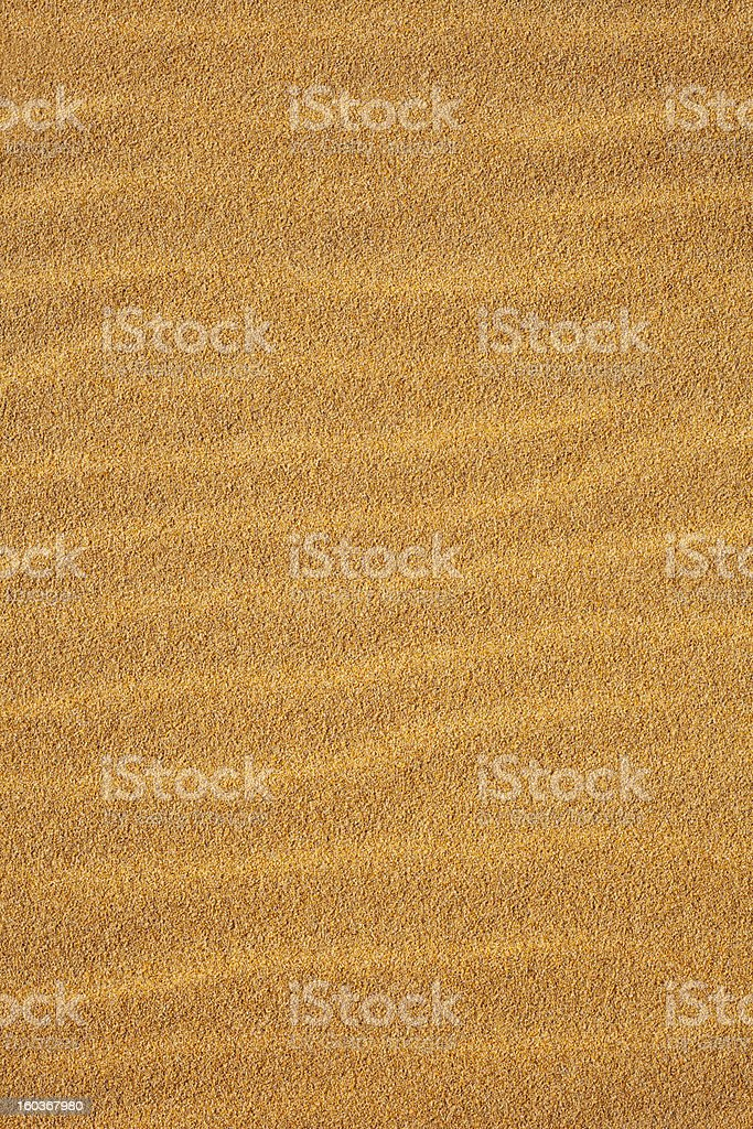 Waves in the Sand Vertical royalty-free stock photo