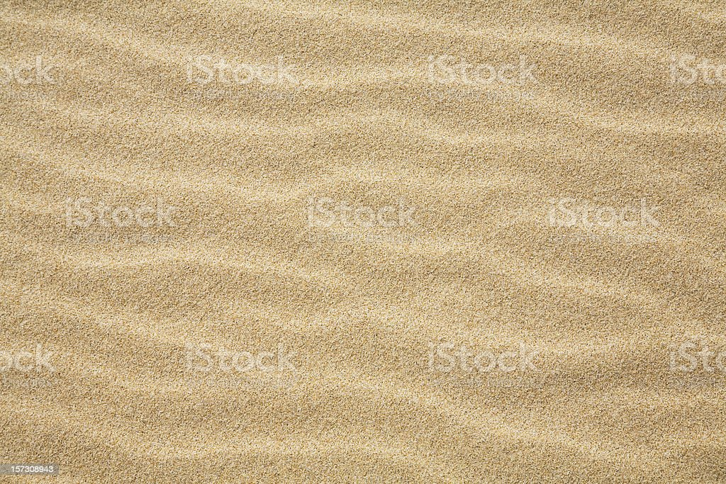 waves of sand stock photo