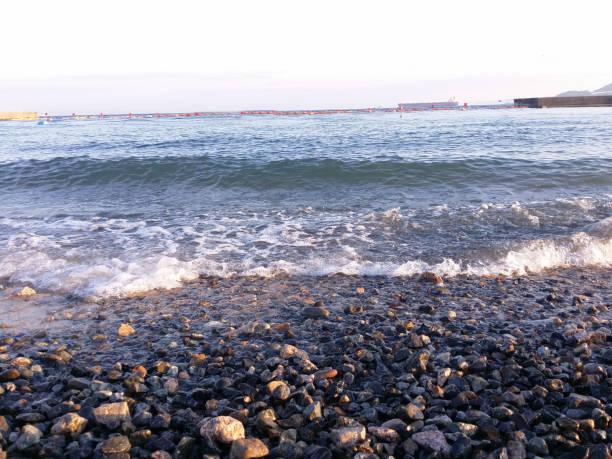 浜辺の波 ストックフォト