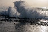 istock Waves on the Las Americas Beach on Tenerife Island, Atlanic Ocean, Spain 1144601551