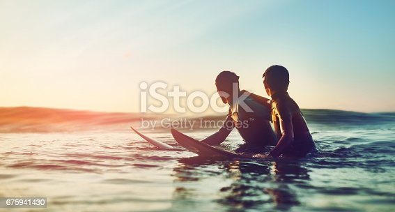 istock Waves were cooking and kids were ripping 675941430