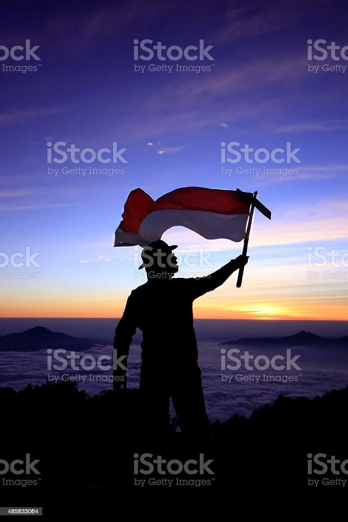 Wavin Flag Indonesia Stock Photo - Download Image Now - iStock