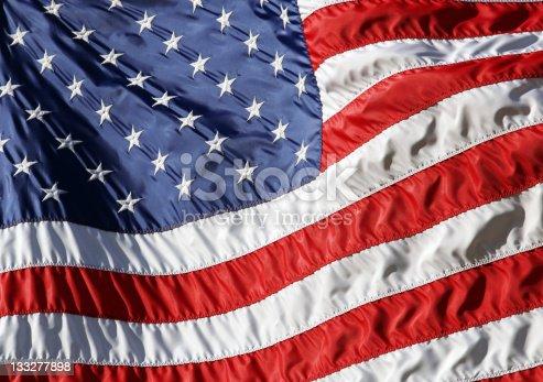 istock Waving American Flag 133277898