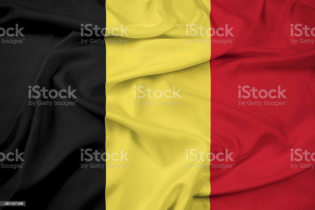 Waving Belgium Flag foto