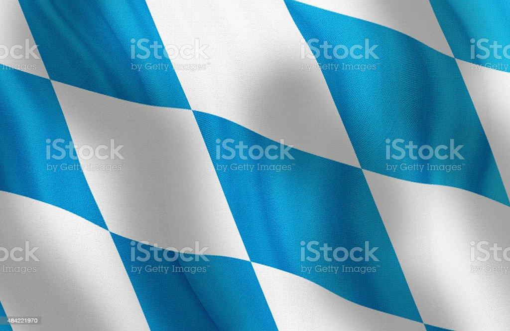 Winken Flagge von Bayern, Deutschland – Foto
