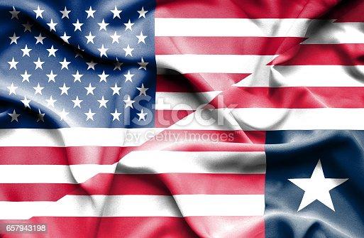 🔥 Liberia Flag Icon  National Flag Of Liberia On A Pole