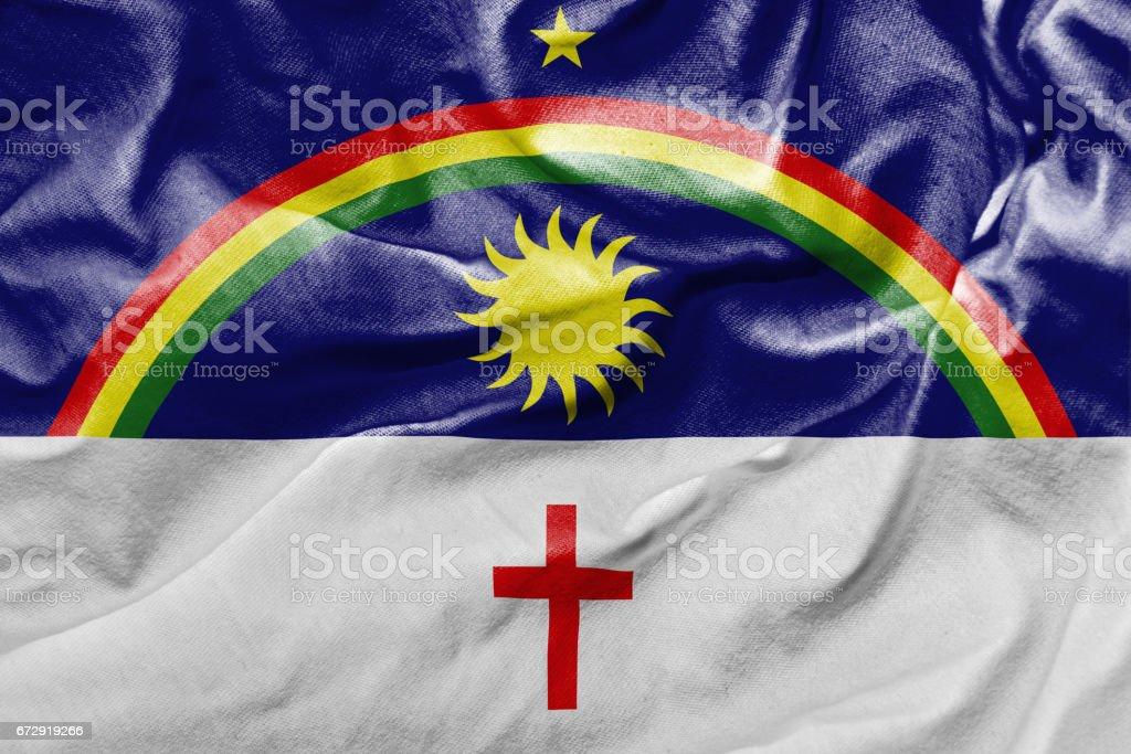 Bandeira de Pernambuco, Brasil - foto de acervo