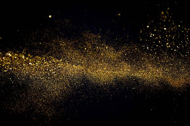 Agitant doré scintillant - Photo