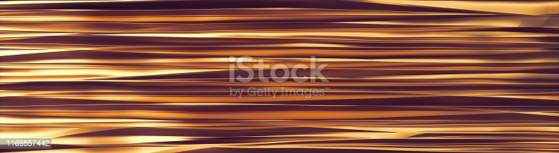 istock Wavy Band Background copper lines banner 1169557442