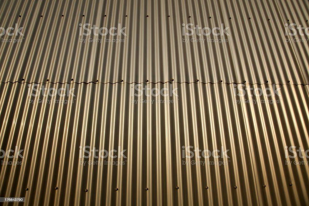 Wavy Metal Background royalty-free stock photo
