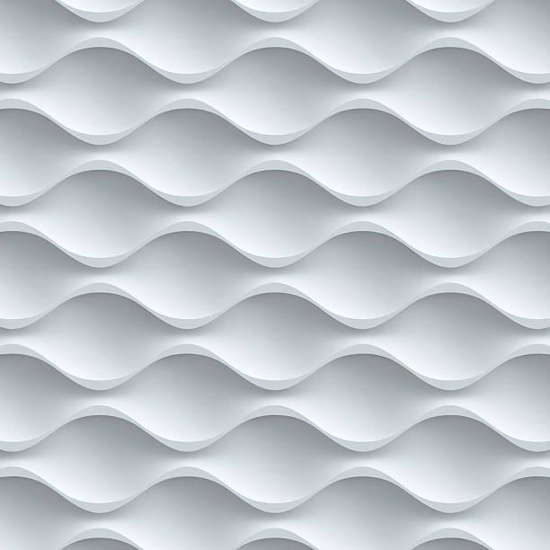 wavy seamless 3d background stock photo