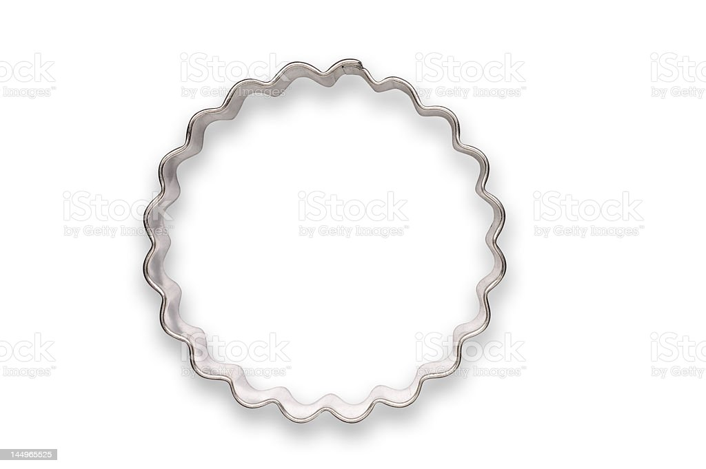 WAVY CIRCLE COOKIE CUTTER