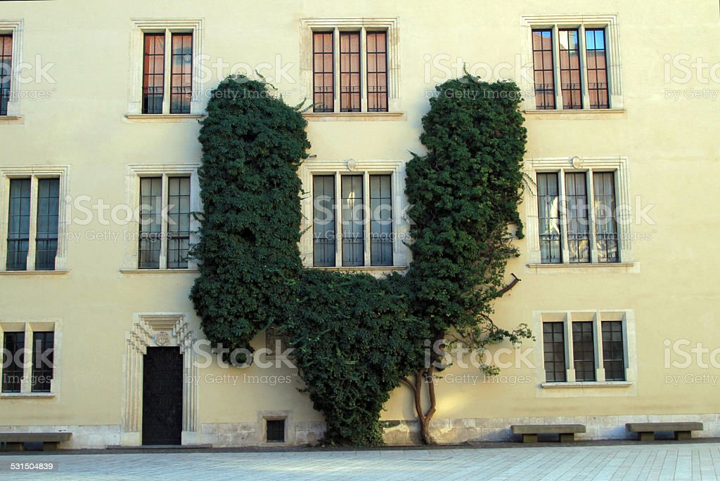 Wawel Castle Apartments stock photo