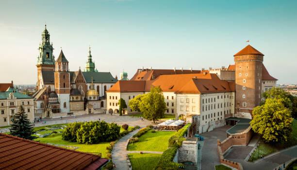 Schloss Wawel in Krakau, Polen – Foto