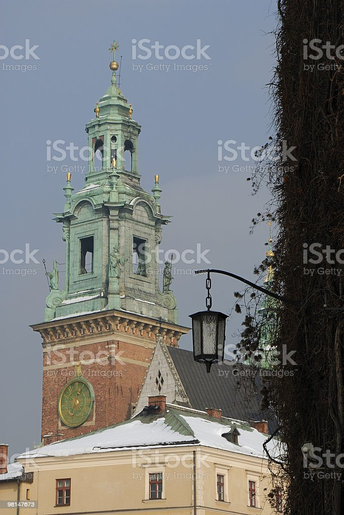 Wawel cathedral in krakow, poland royalty-free stock photo