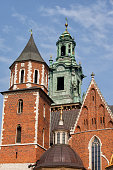Wawel Royal Cathedral in Krakow, Poland.