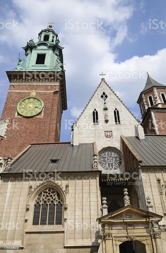 Wawel royalty-free stock photo