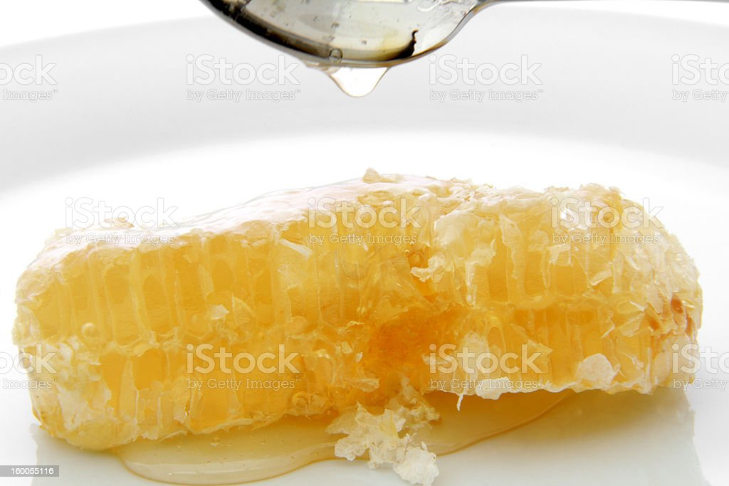 wax combs stock photo