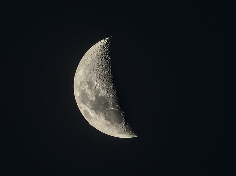 Waxing Crescent Moon on April 30th, 2020