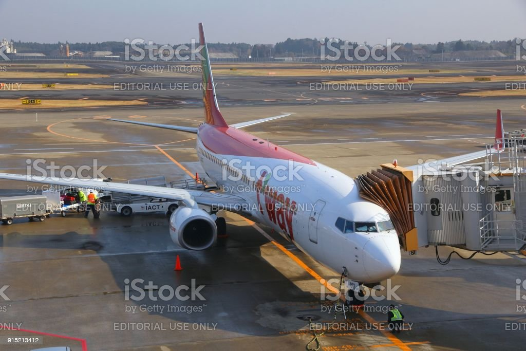 T'way Airlines stock photo
