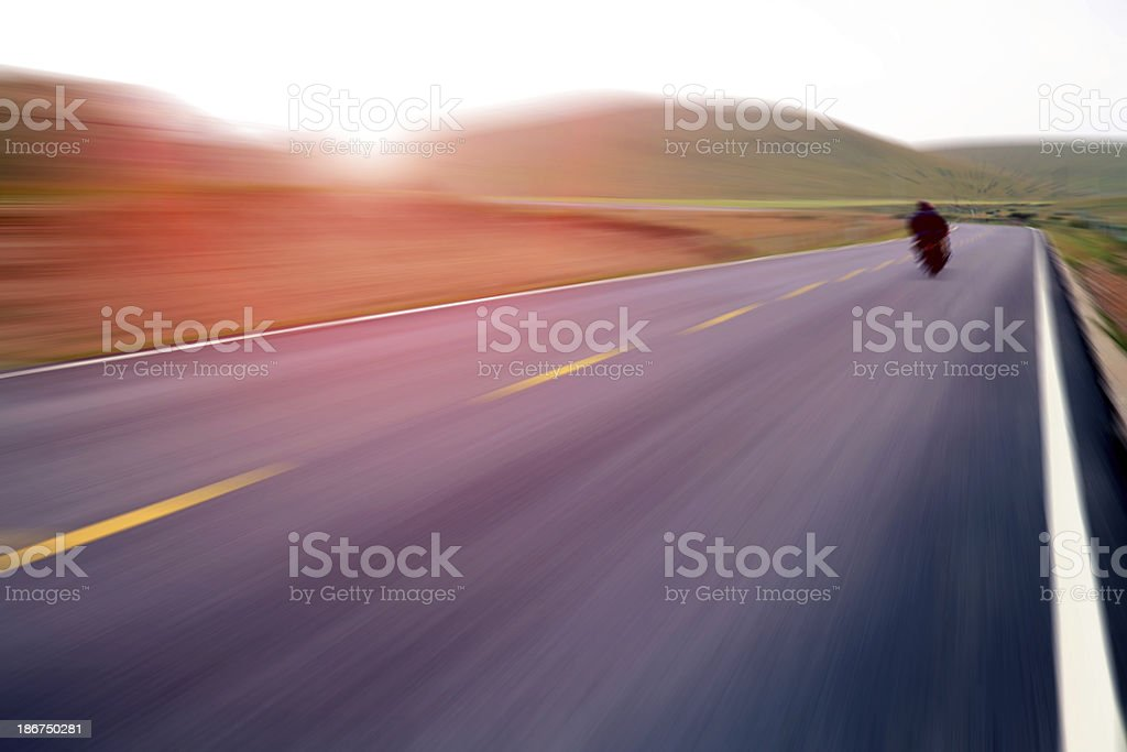 Way forward royalty-free stock photo
