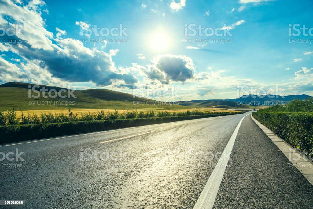 Way forward stock photo