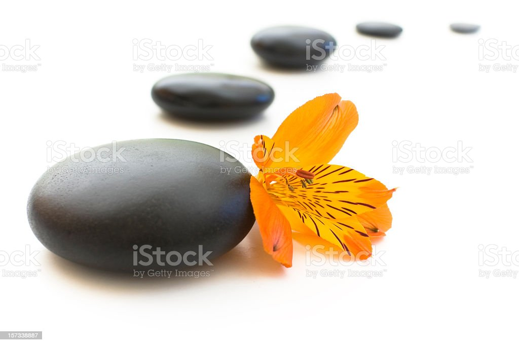 way of relaxation royalty-free stock photo