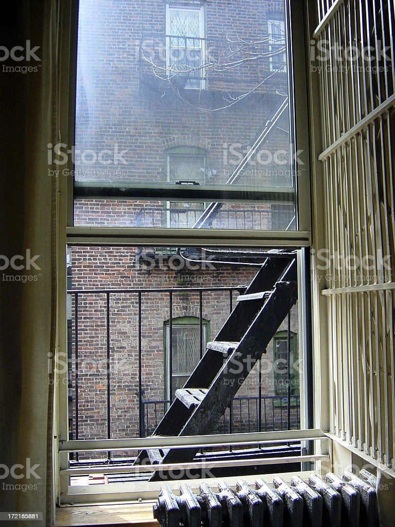 way out window stock photo