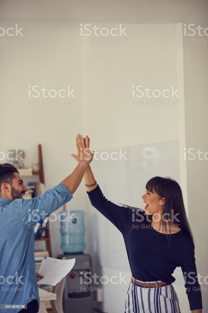 Way to go! stock photo