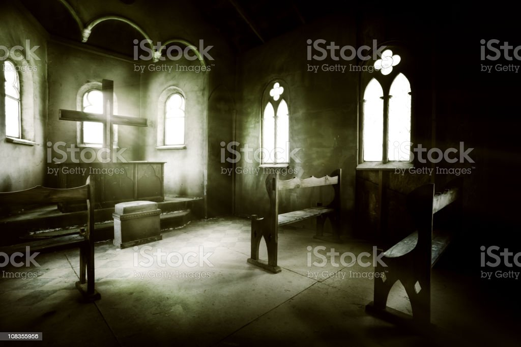 Way to God stock photo