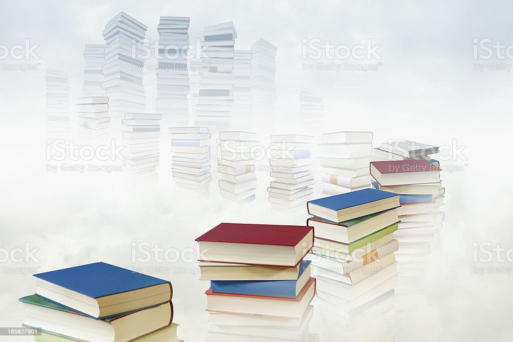 way to knowledge royalty-free stock photo