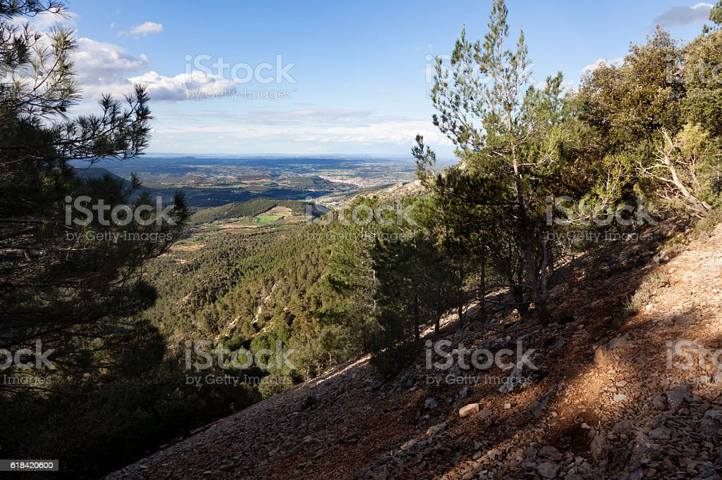 Way to La Picosa. Spain stock photo