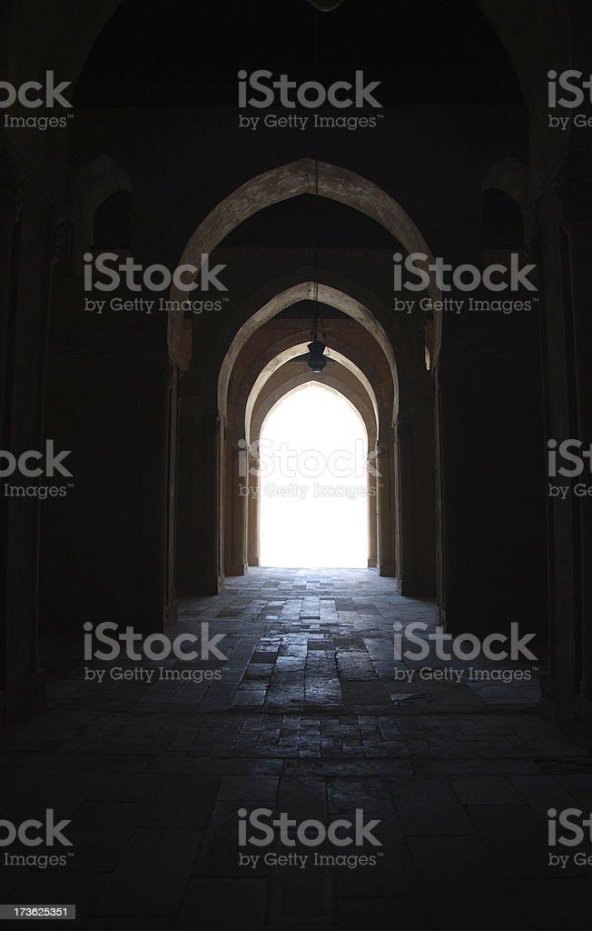 Way to light II royalty-free stock photo