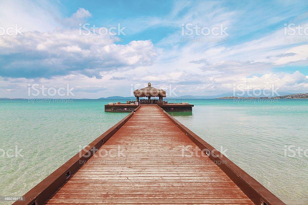Way to Paradise royalty-free stock photo
