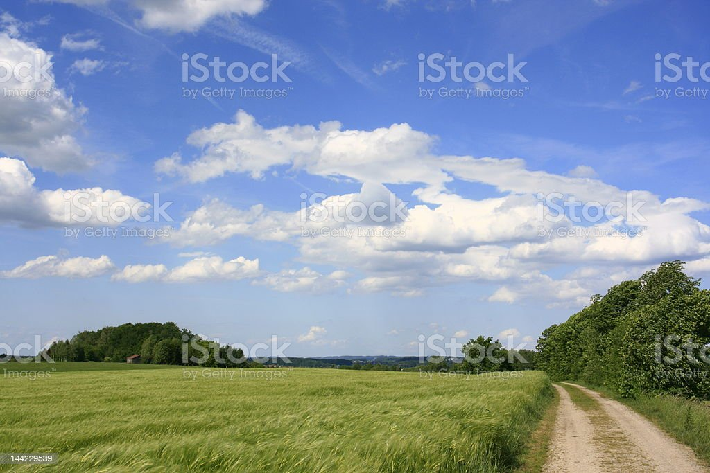 way to the clouds royalty-free stock photo