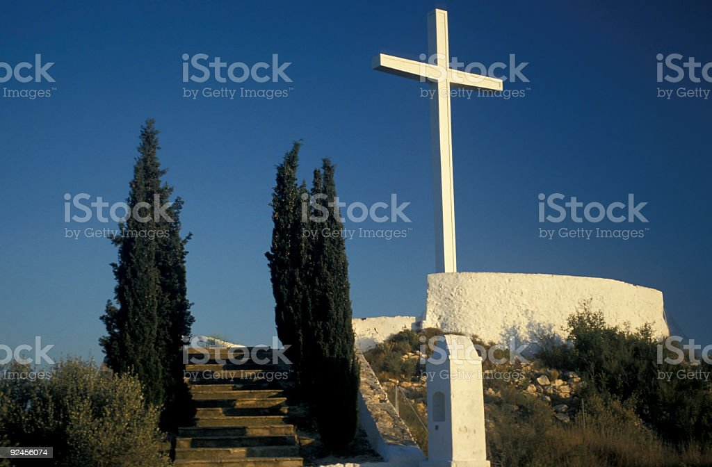 Way to the Cross royalty-free stock photo