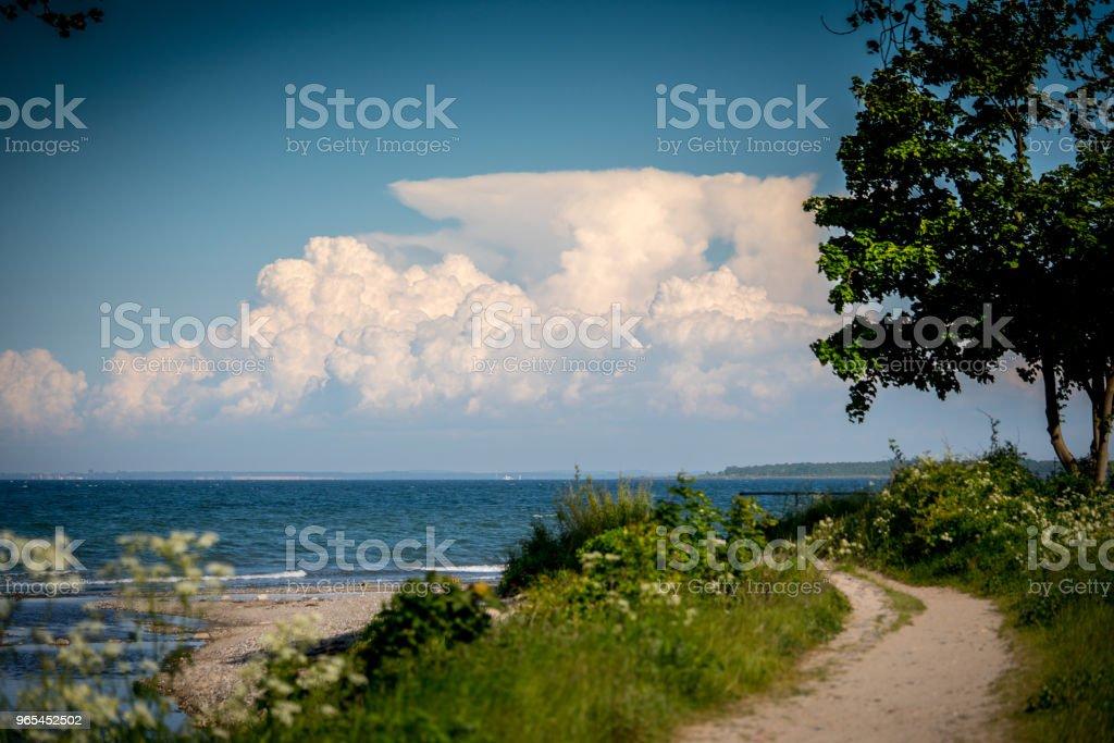 Way to the Ocean zbiór zdjęć royalty-free