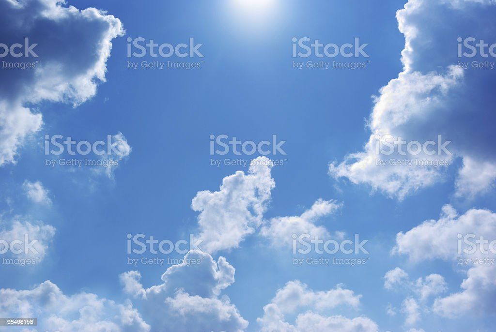 Way to the sky royalty-free stock photo