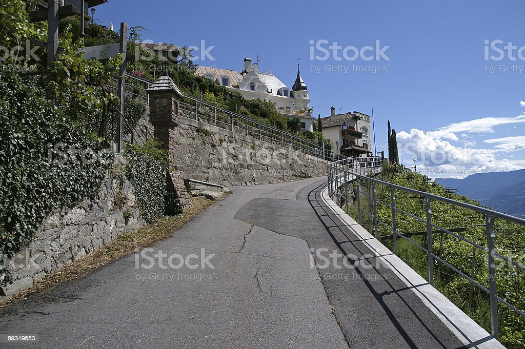way to the top stock photo