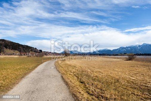 istock way to village Hopfen am See 469964189