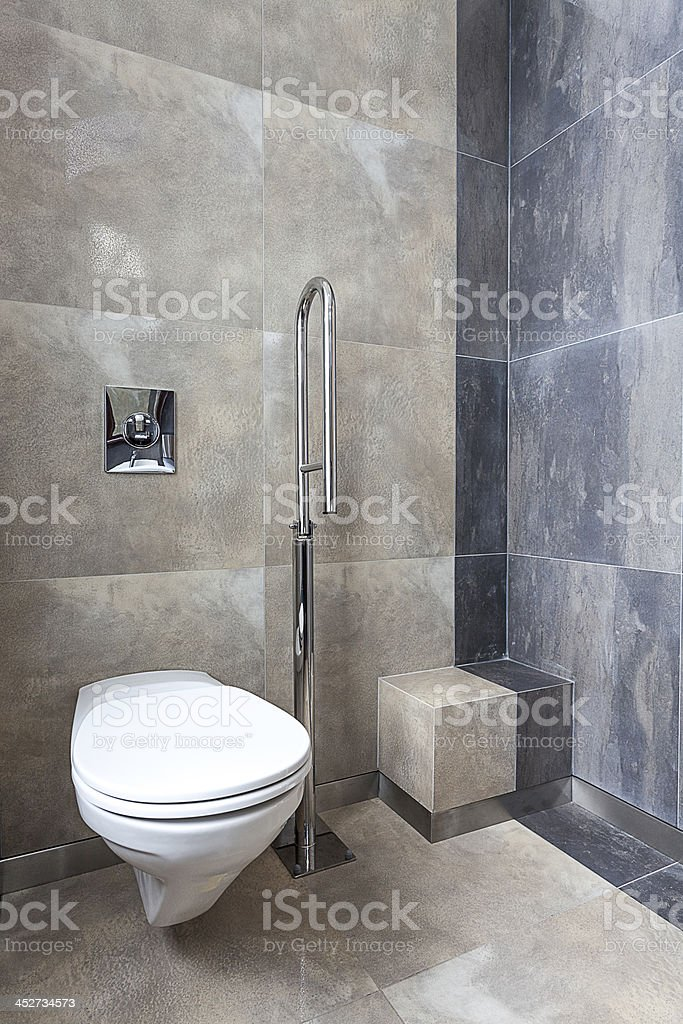 Wc for disabled person royalty-free stock photo
