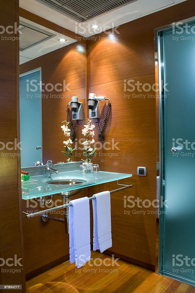 Wc in the room royalty-free stock photo