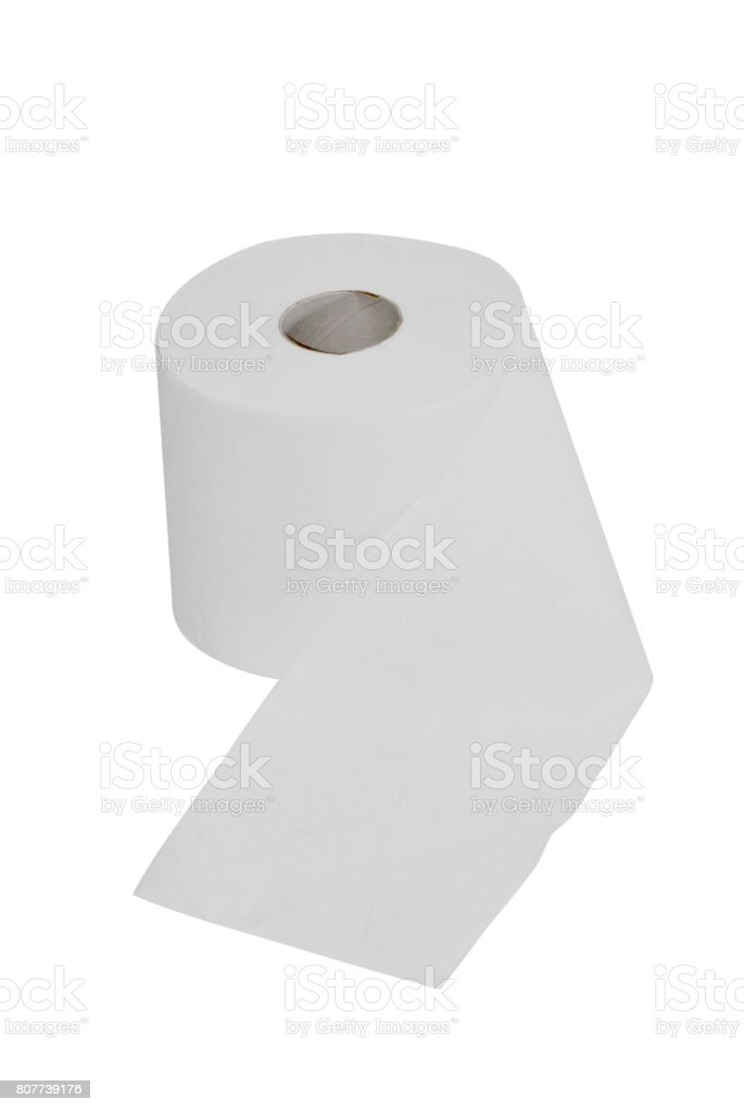Wc paper stock photo