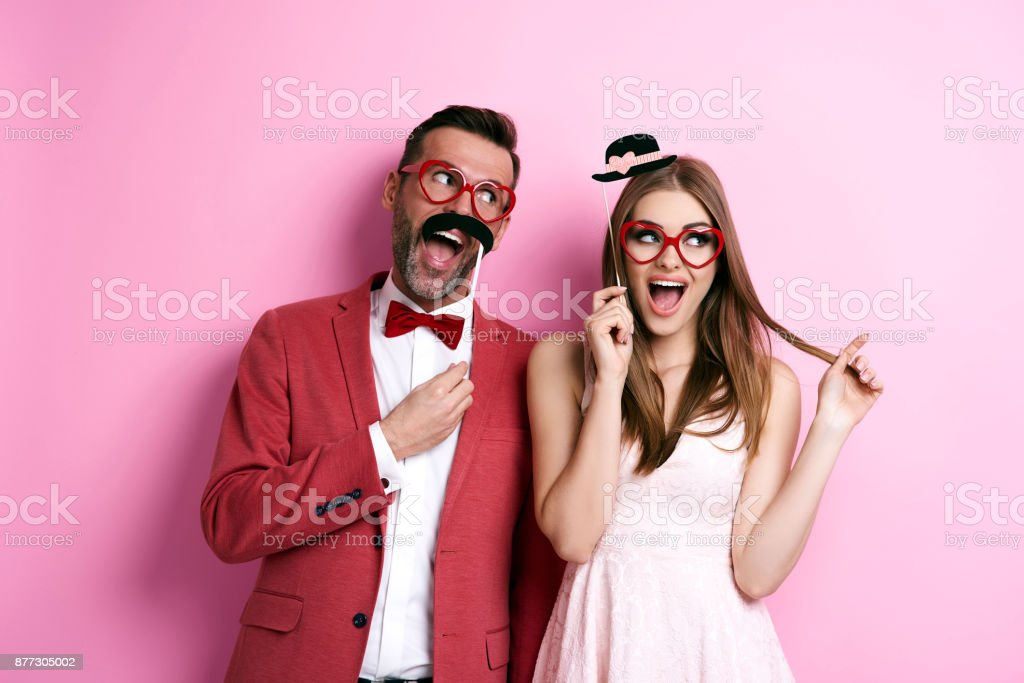 We always have a fun together stock photo