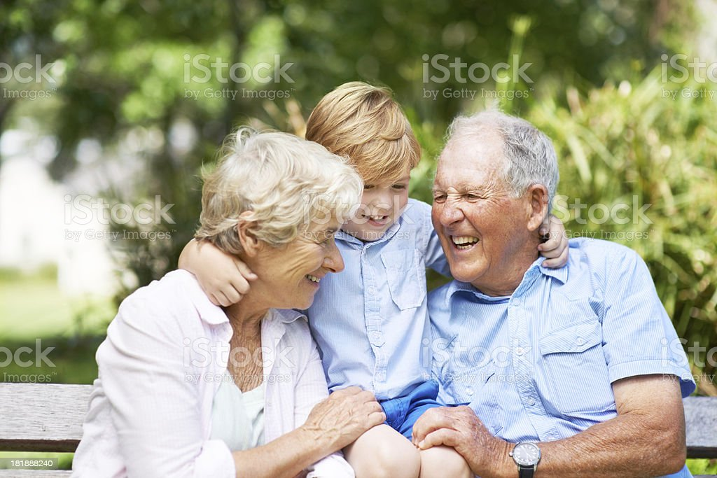 We always have a great time together! royalty-free stock photo