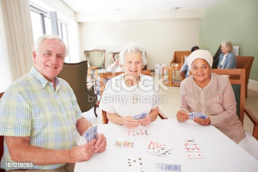 istock We always have fun playing cards 187016263