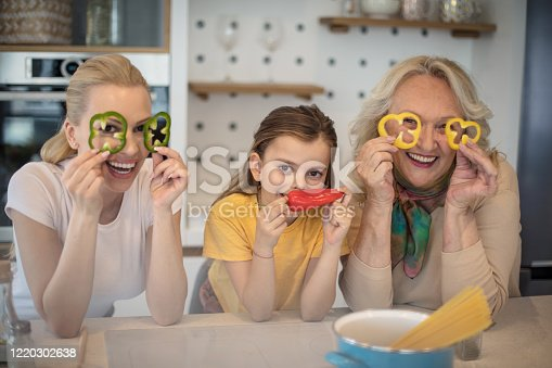 638984280 istock photo We always have fun while cooking. 1220302638