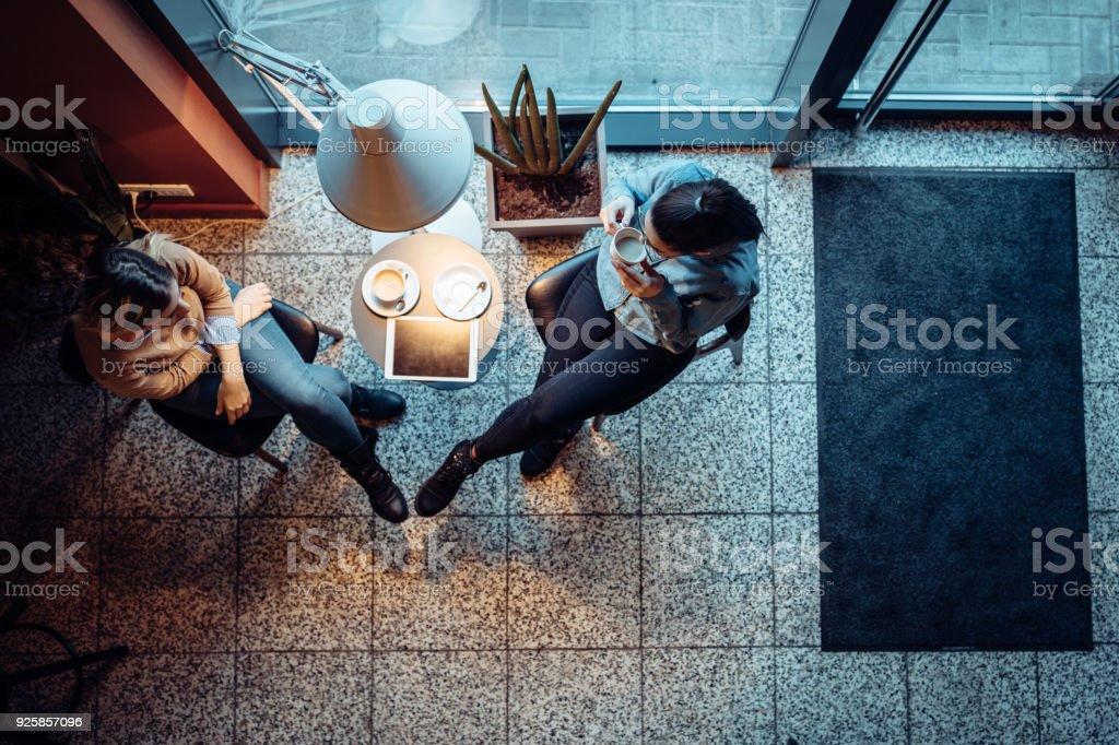 Wir nehmen uns immer Zeit für unsere Kaffee-Termine – Foto