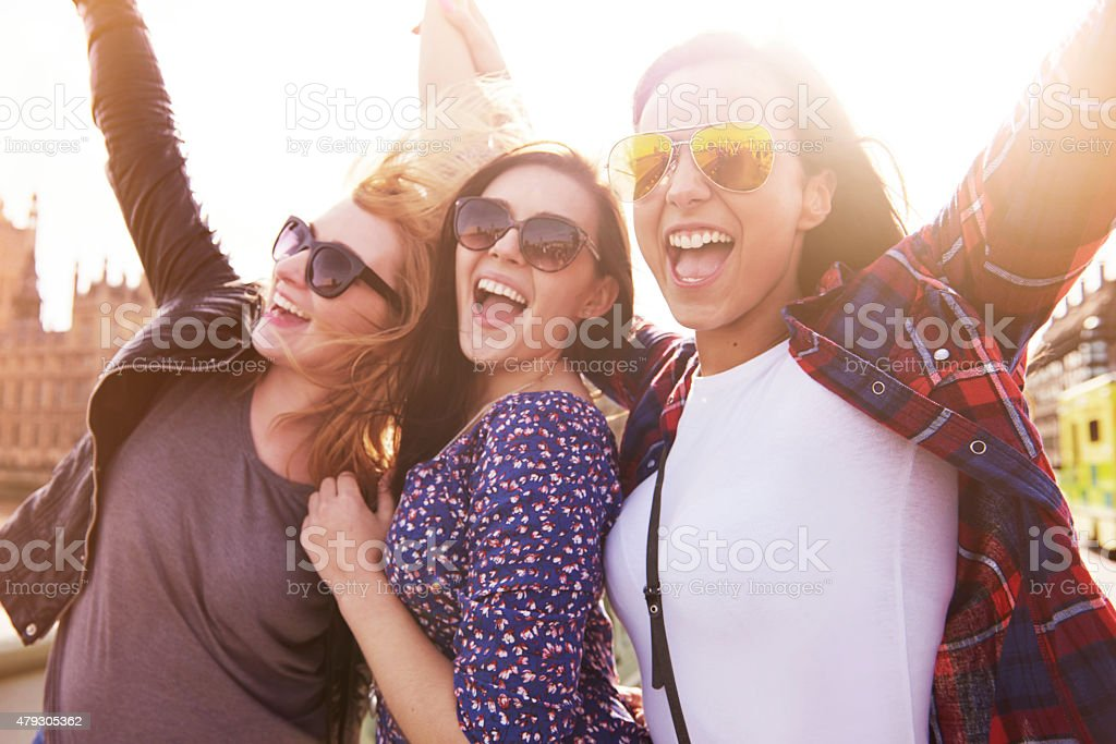 We are best friends forever stock photo